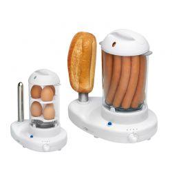 Παρασκευαστής Hot Dog και Βραστών Αυγών 2 σε 1 Clatronic HDM3420