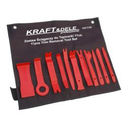 Σετ Εργαλεία Αφαίρεσης Ταπετσαρίας - Κλιπς Αυτοκινήτου 11 τμχ Kraft&Dele KD-1128