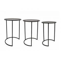 Σετ Βοηθητικά Μεταλλικά Τραπέζια 35 x 35 x 50 cm Viggo Lifa-Living 8719743326378