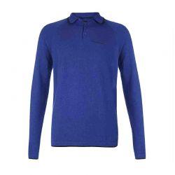 Polo Μπλε με Μακρύ Μανίκι Pierre Cardin