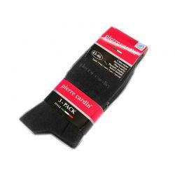 Σετ 3 Ζευγάρια Ανδρικές Κάλτσες Pierre Cardin Χρώματος Γκρι 43-46 7655