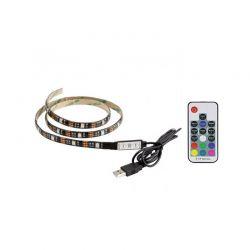 Πλήρες Κιτ Κρυφού Φωτισμού RGB με USB για Τηλεοράσεις και Τηλεχειριστήριο SPM F22