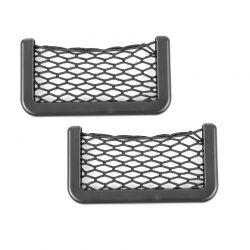 Σετ Αυτοκόλλητες Θήκες Κινητού για το Αυτοκίνητο με Ελαστικό Δίχτυ 20 x 8 cm 2 τμχ SPM F7