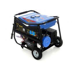 Φορητή Μονοφασική Ηλεκτρογεννήτρια Βενζίνης 5000 W 12/230 V Kraft&Dele KD-145