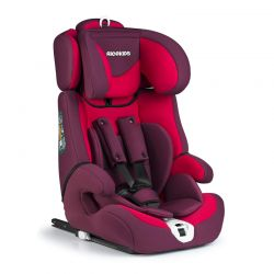 Παιδικό Κάθισμα Αυτοκινήτου Χρώματος Κόκκινο για Παιδιά 9-36 Kg Ricokids Zebo