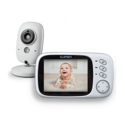 """Συσκευή Παρακολούθησης Μωρού με Έγχρωμη Οθόνη 3.2 """" ILUMEN CAM-S3"""