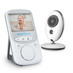 """Συσκευή Παρακολούθησης Μωρού με Έγχρωμη Οθόνη 2.4 """" ILUMEN CAM-S2"""