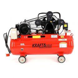 Αεροσυμπιεστής Λαδιού 100 Lt 400 V Kraft&Dele KD-405