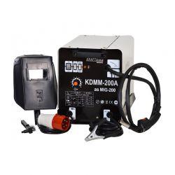 Ηλεκτροκόλληση Inverter MIG - MAG - FLUX 200A 380V Kraft&Dele KD-830