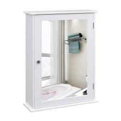 Καθρέπτης Μπάνιου με Ντουλάπι 41 x 14 x 60 cm Songmics LHC001