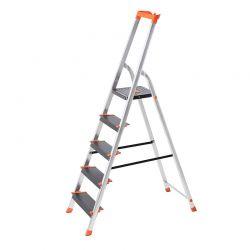 Σκάλα Αλουμινίου 5 Σκαλιών Songmics GLT05BK