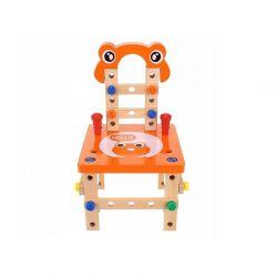 Ξύλινο Παιδικό Εργαστήριο με Εργαλεία και Αξεσουάρ Kruzzel 9441