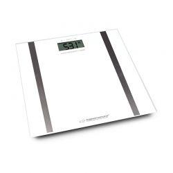 Ηλεκτρονική Ζυγαριά Μπάνιου Λιπομετρητής Χρώματος Λευκό Esperanza EBS018W