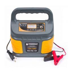 Φορτιστής Μπαταρίας Αυτοκινήτου με Μικροεπεξεργαστή 12/24 V POWERMAT PM-PM-10T