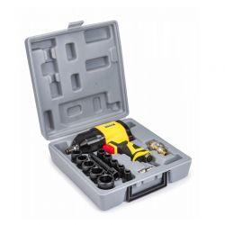 """Πνευματικό Ηλεκτρικό Μπουλονόκλειδο 1/2"""" 1550 Nm με Βαλιτσάκι POWERMAT PM-KPU-1550T"""