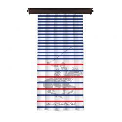Κουρτίνα με Τρουκς 140 x 260 cm Beverly Hills Polo Club 176BHP8821