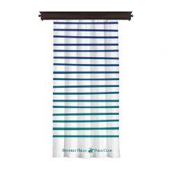 Κουρτίνα με Τρουκς 140 x 260 cm Χρώματος Λευκό Beverly Hills Polo Club 176BHP8808