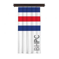 Κουρτίνα με Τρουκς 140 x 260 cm Χρώματος Λευκό Beverly Hills Polo Club 176BHP8816