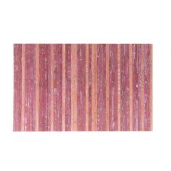 Πατάκι Πολλαπλών Χρήσεων Από Μπαμπού Χρώματος Κόκκινο 50 x 80 cm MWS16306