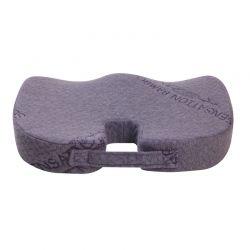 Ανατομικό Μαξιλάρι Καθίσματος από Μπαμπού και Memory Foam Herzberg HG-8040