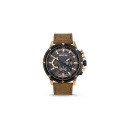 Ανδρικό Ρολόι με Καφέ Σουέτ Δερμάτινο Λουράκι Extri X6005D 8719325422528