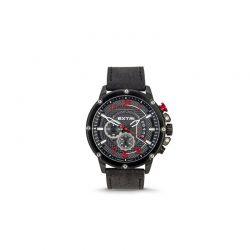Ανδρικό Ρολόι με Μαύρο Σουέτ Δερμάτινο Λουράκι Extri X6020C 8719325422610