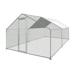 Μεταλλικό Κοτέτσι - Σπίτι Μικρών Ζώων Εξωτερικού Χώρου 3 x 4 m SPM 50080022