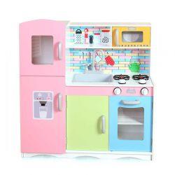 Παιδική Ξύλινη Κουζίνα με Αξεσουάρ 85 x 80.5 x 30.5 cm Ricokids 7834
