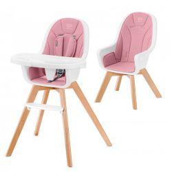 Παιδικό Κάθισμα Φαγητού 2 σε 1 Χρώματος Ροζ KinderKraft TIXI
