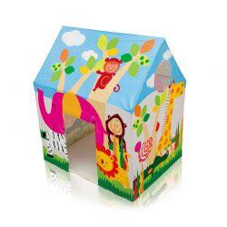 Παιδικό Σπιτάκι Jungle Fun Cottage Intex 45642