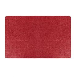 Πατάκι Πολλαπλών Χρήσεων Χρώματος Κόκκινο 50 x 80 cm MWS16310