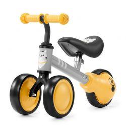 Παιδικό Ποδήλατο Ισορροπίας KinderKraft Cutie Χρώματος Κίτρινο
