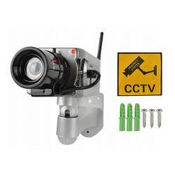 Ψεύτικη IP Κάμερα Ασφαλείας με Περιστροφική Κίνηση και Ένδειξη LED SPM 5881