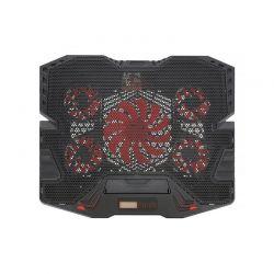 Ρυθμιζόμενη Βάση Ψύξης για Laptop έως 17″ με 5 Ανεμιστήρες και LCD Οθόνη SPM 9740