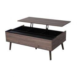 Ξύλινο Τραπέζι Σαλονιού 110 x 65 x 39.3 cm HOMCOM 833-685
