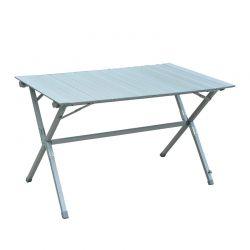 Πτυσσόμενο Τραπέζι Αλουμινίου με Τσάντα Μεταφοράς 116 x 70 x 69 cm Outsunny 01-0399