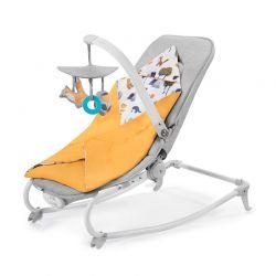 Παιδικό Ρηλάξ 3 σε 1 Χρώματος Κίτρινο KinderKraft Felio 2020