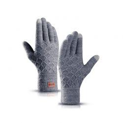 Πλεκτά Γάντια για Οθόνη Αφής Χρώματος Γκρι SPM DYN-DTGloves-GREY