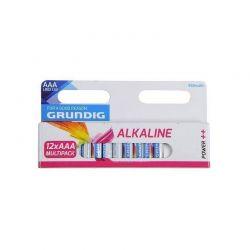 Σετ Αλκαλικές Μπαταρίες AAA LR03 1.5 V 12 τμχ Grundig 809-5167800000