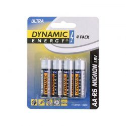 Σετ Μπαταρίες ΑA R6 Mignon Ultra 1.5 V 4 τμχ Dynamic Energy 809-1285800000