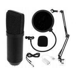 Σετ Studio με Μικρόφωνο, Βάση Στήριξης και Anti-Pop Φίλτρο SPM 8957