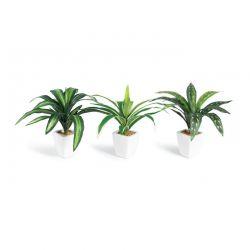 Σετ Τεχνητά Φυτά σε Γλάστρες 3 τμχ SPM 40080785