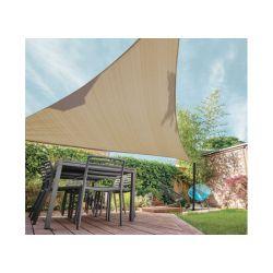 Τριγωνικό Σκίαστρο 5 x 5 m Χρώματος Μπεζ SPM 40020199