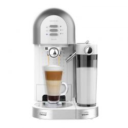 Ημιαυτόματη Καφετιέρα Espresso Power Instant-ccino 20 Chic Serie Bianca 20 Bar Χρώματος Λευκό Cecotec CEC-01594