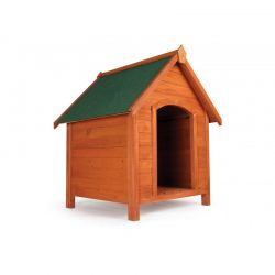 Ξύλινο Σπίτι Σκύλου XXL 65.5 x 74 x 83 cm Pratik GARDEN 30100048