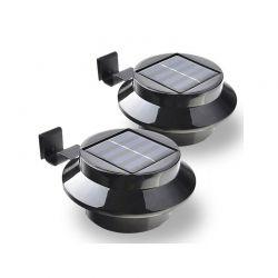 Σετ Ηλιακά Φώτα με LED Φωτισμό 2 τμχ Hoppline HOP1000600-1