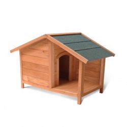 Ξύλινο Σπίτι Σκύλου με Βεράντα XL/XXL 120 x 75 x 77 cm Pratik GARDEN 10110004