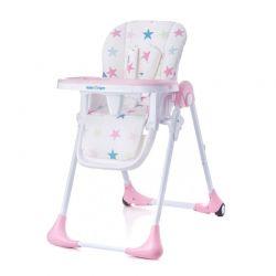 Παιδικό Κάθισμα Φαγητού με Πτυσσόμενη Λειτουργία Χρώματος Ροζ Baby Tiger Kiki