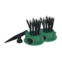 Σύστημα Ποτίσματος Ψεκασμού Άρδευσης με 24 Μπεκ Flexi Sprinkler FSP001