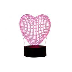 3D Καρδιά με Αλλαγή Χρώματος SPM R172537